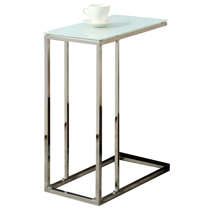 modern end tables tony accent table eurway metal with glass top marble console set chairs calgary mid century and acrylic lucite coffee for small living room diy bar west elm