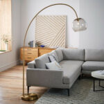 modern floor lamps west elm media accent spotlight table lamp overarching acrylic shade antique brass smoke dimmable extendable big deck umbrella small narrow diy large coffee 150x150