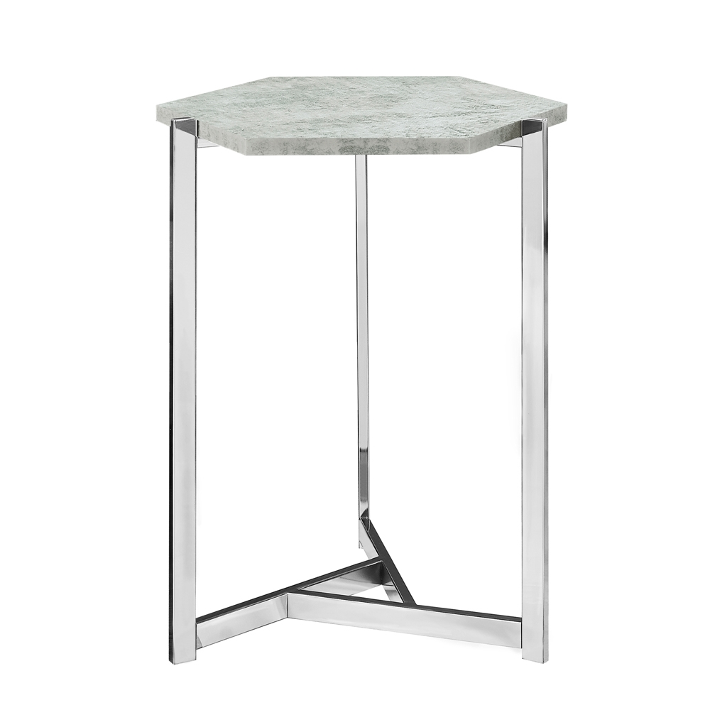 modern geometric accent table shelving tables tiny lamps nate berkus glass agate mosaic seater patio set high top legs country furniture outdoor wicker lounge small living room