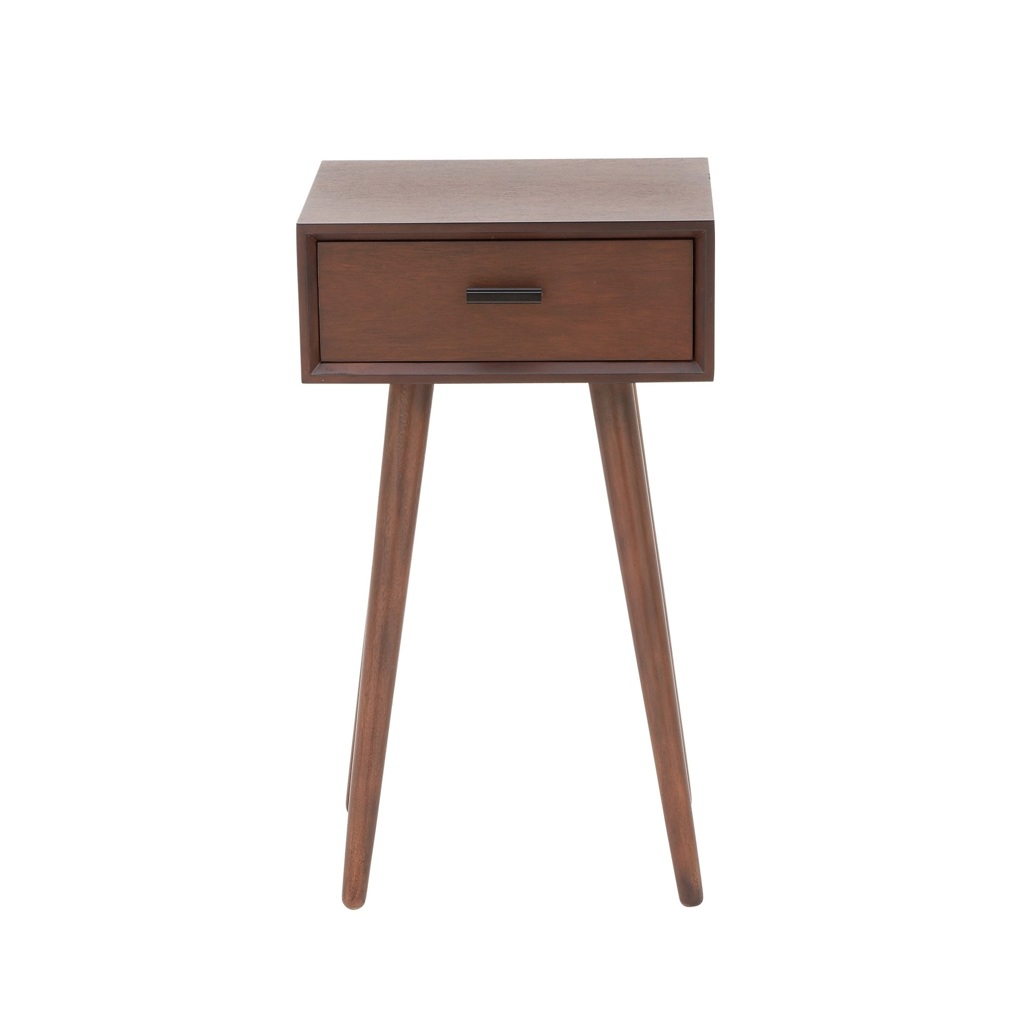 modern inch brown wooden accent table with drawer studio wood free shipping today plastic patio umbrella hole round pine end loveseat clearance pottery barn display coffee black