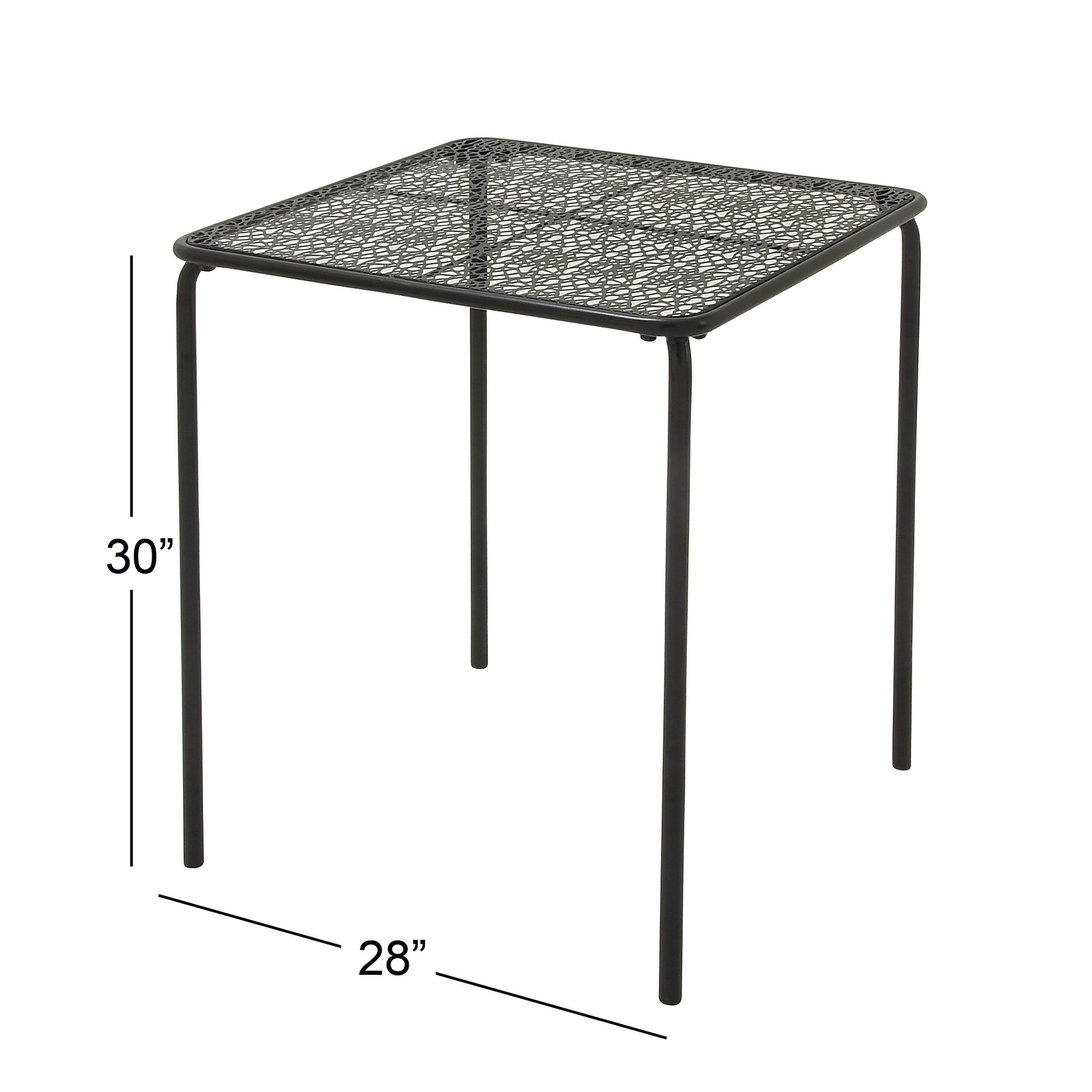 modern inch lace designed iron outdoor table studio bombay outdoors pineapple umbrella accent free shipping today dark brown rattan coffee office cupboard corner display cabinet