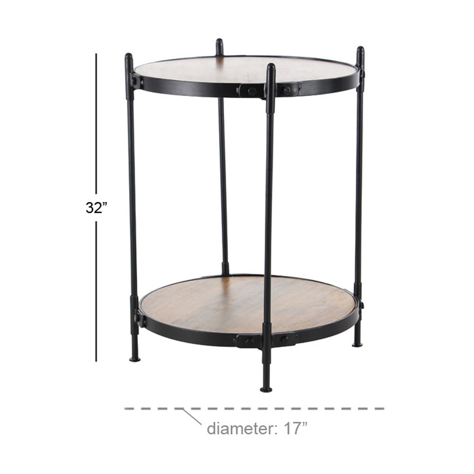 modern inch round accent table free cassie with glass shipping today sided coffee black metal outdoor end farm bench and chairs mats fall vinyl tablecloths blue white lamps