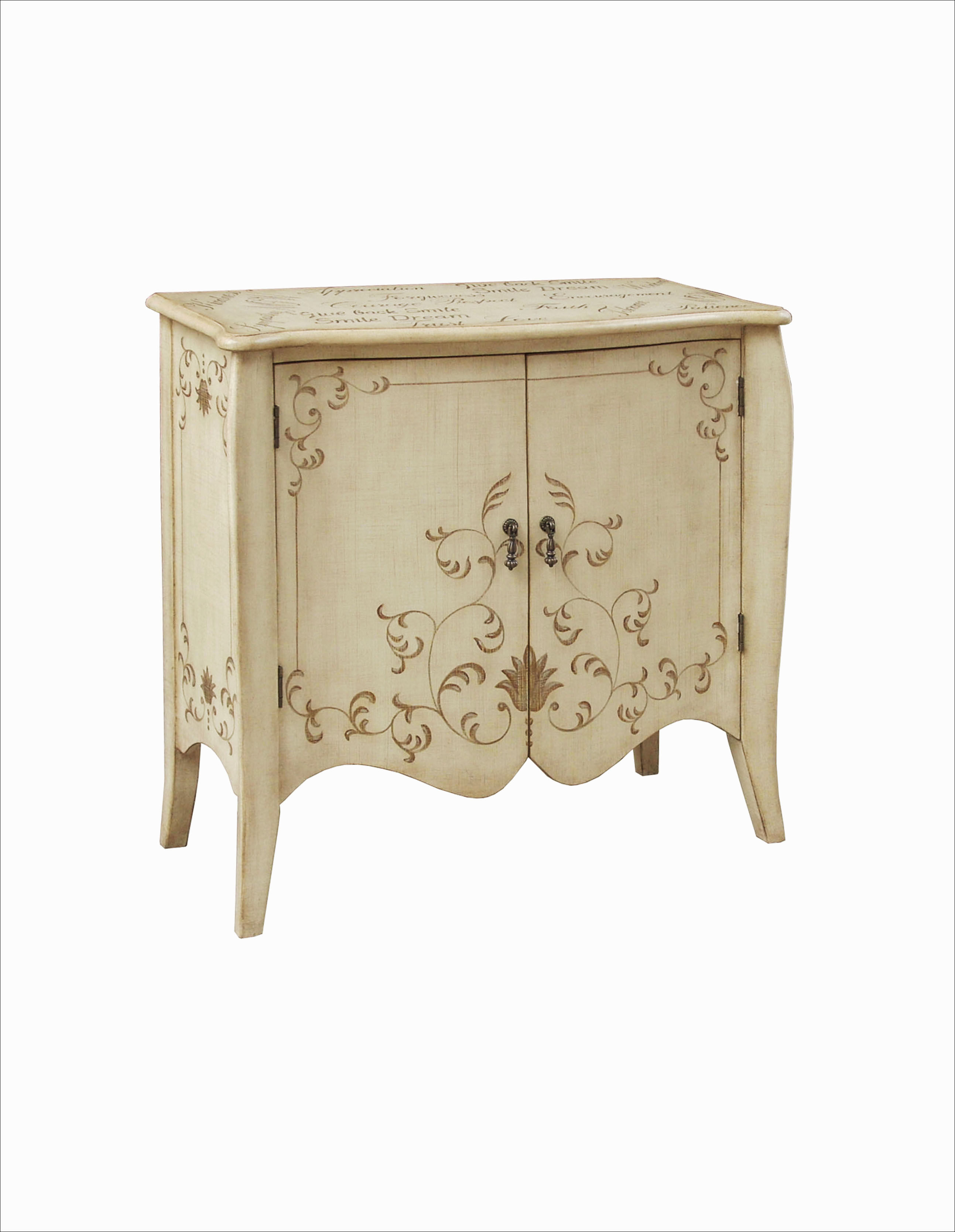 modern ivory wood hand painted accent chest the classy home plf tables chests mirrored dining table and chairs gold round end steel garden bistro small outdoor coffee living room