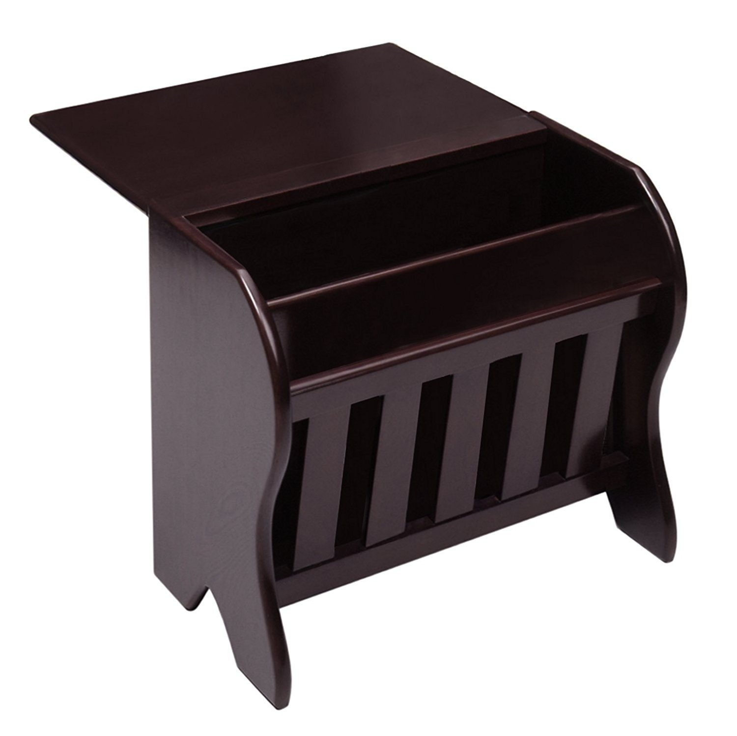 modern magazine rack table find accent with get quotations indoor multi function study computer desk bedroom living room style end shabby chic tables tool storage cabinets target