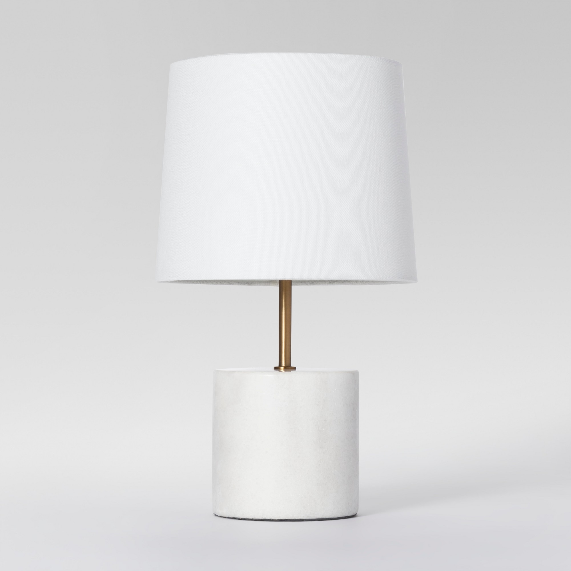 modern marble accent table lamp white includes energy efficient lighting light bulb project mirrored console with drawers ikea wooden storage shelves led lights for home ballard