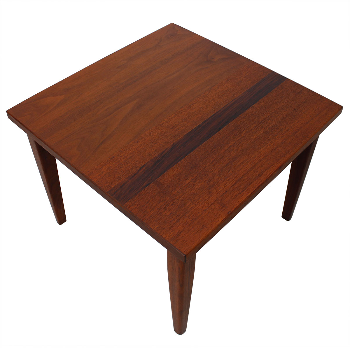 modern mobler rosewood accent table decorator mid century compact square teak walnut turquoise bedside lamps ikea garden shelf sitting room chairs nice design tea blue linens end