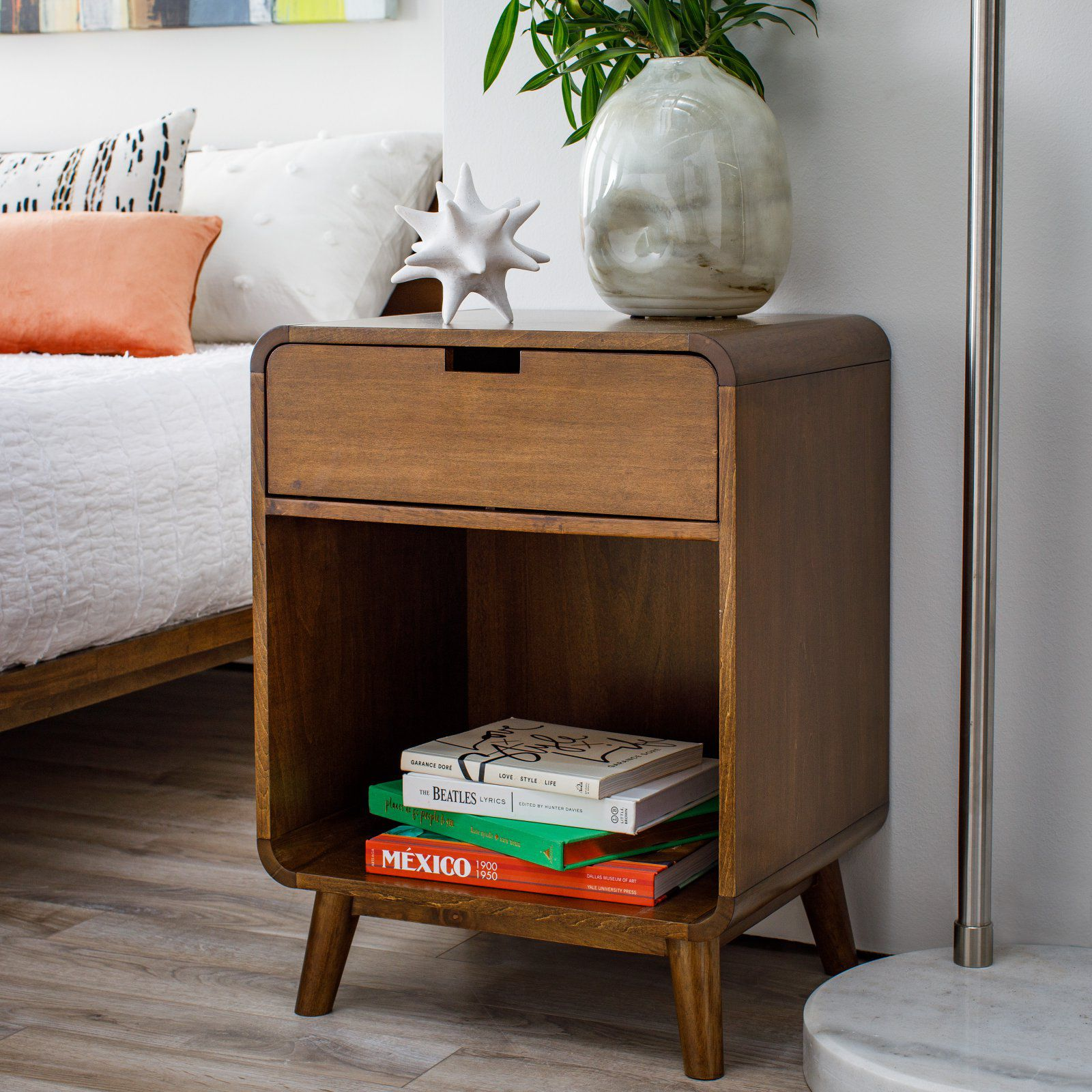 modern nightstands for every bedroom style chic bedside tables tachuri accent table target stools gray round end glass coffee with storage battery operated lights tiffany look