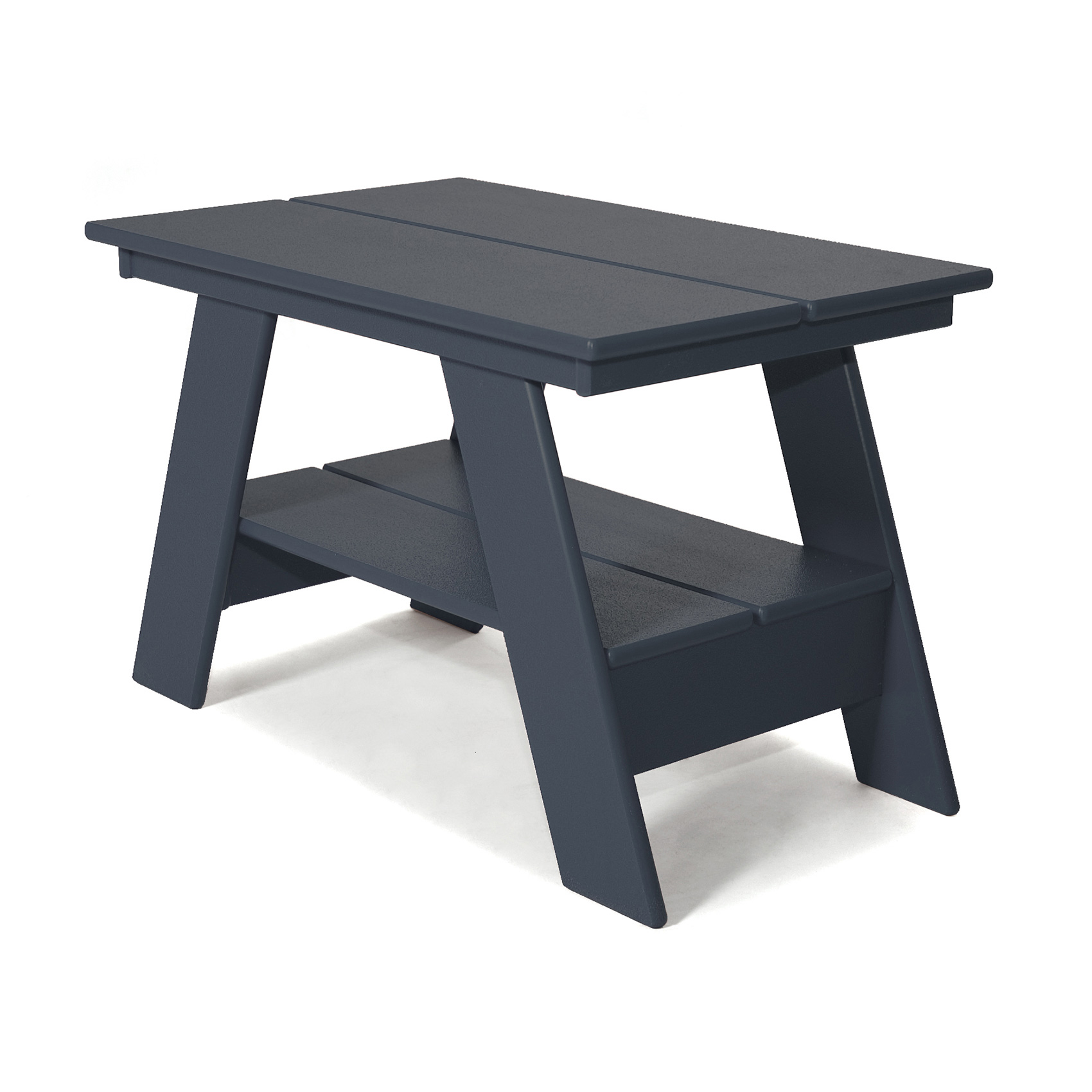 modern outdoor side table adirondack style loll designs grey navy accent vintage round wood coffee heavy duty garden furniture covers entryway bench concrete dinner rectangle