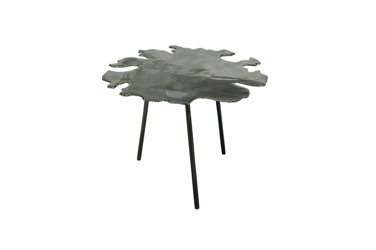 modern reflections accent table metallic grey gardner white silver gray from furniture target rose gold side stand dragonfly lamp inexpensive sofa tables lucite cube small kitchen