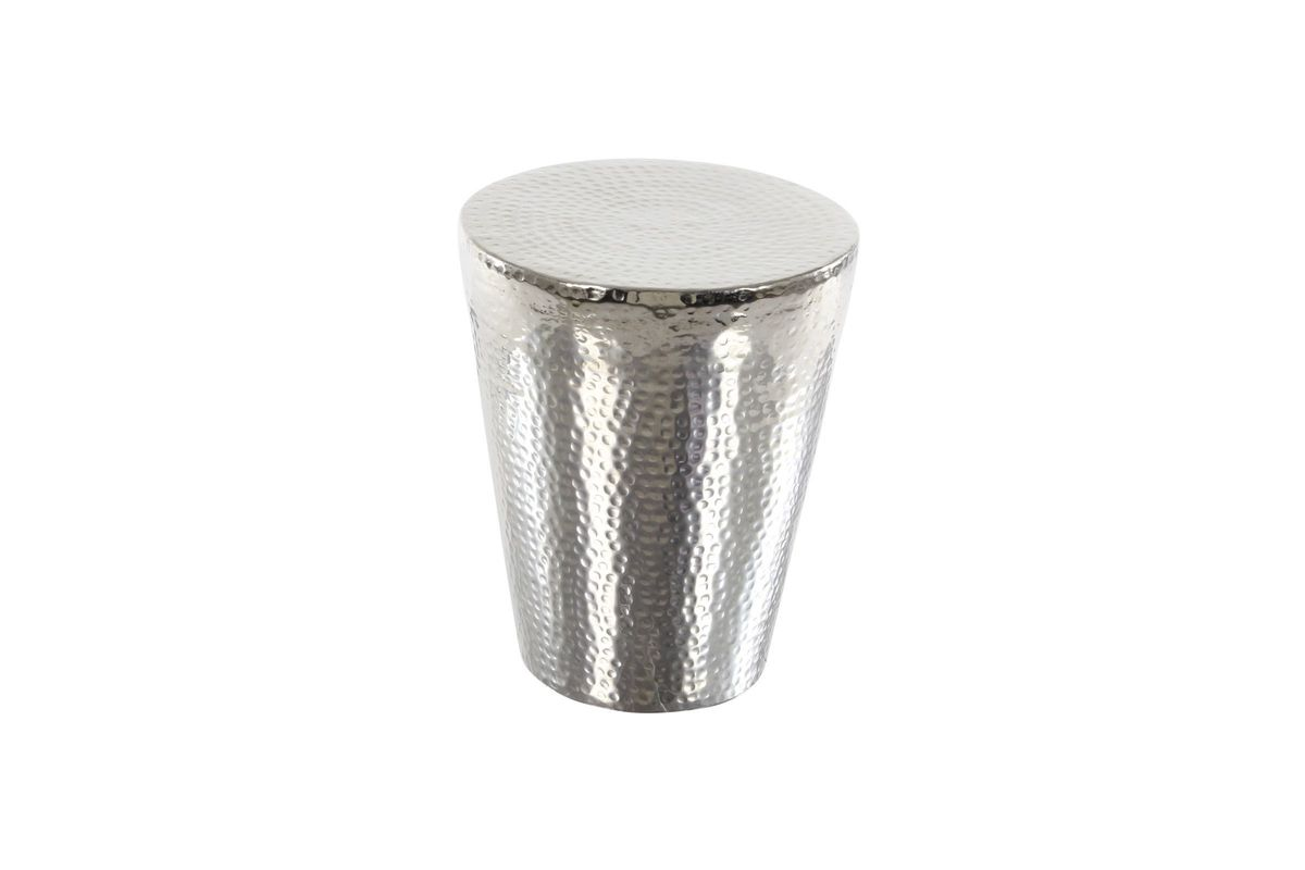 modern reflections foot stool accent table silver gardner white gray from furniture coastal decor lamps tessa black and dining marble diy outdoor narrow ikea seat for drums over