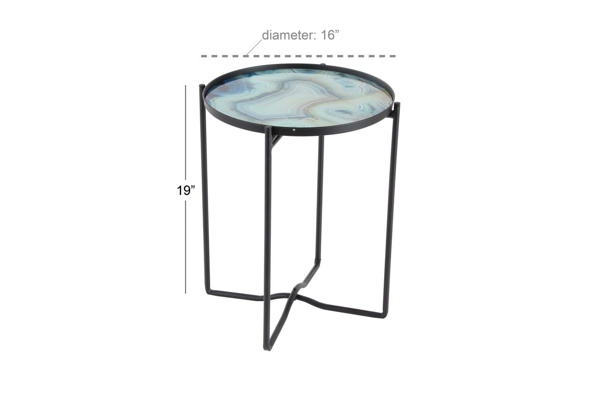 modern reflections smoked glass accent table light blue share acrylic chairs solid marble side shower head target patio furniture clearance round wood coffee with storage wine