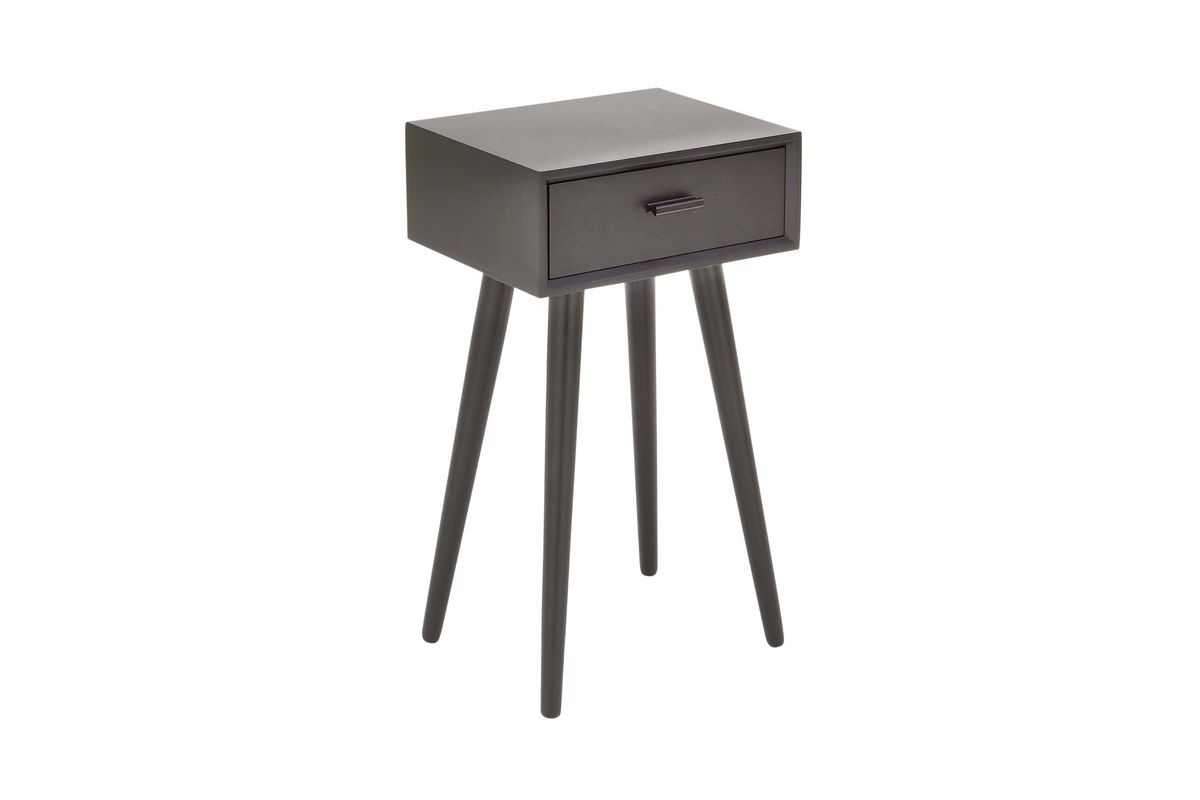 modern reflections square accent table black gardner white from furniture trestle style dining solid marble end tables gray cube side teak outdoor counter height bench threshold