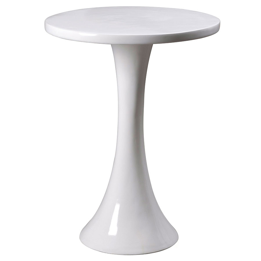 modern side tables snow accent table eurway white nautical hanging lantern small outdoor teak pottery barn round glass dining butterfly leaf nursery nightstand kidney shaped
