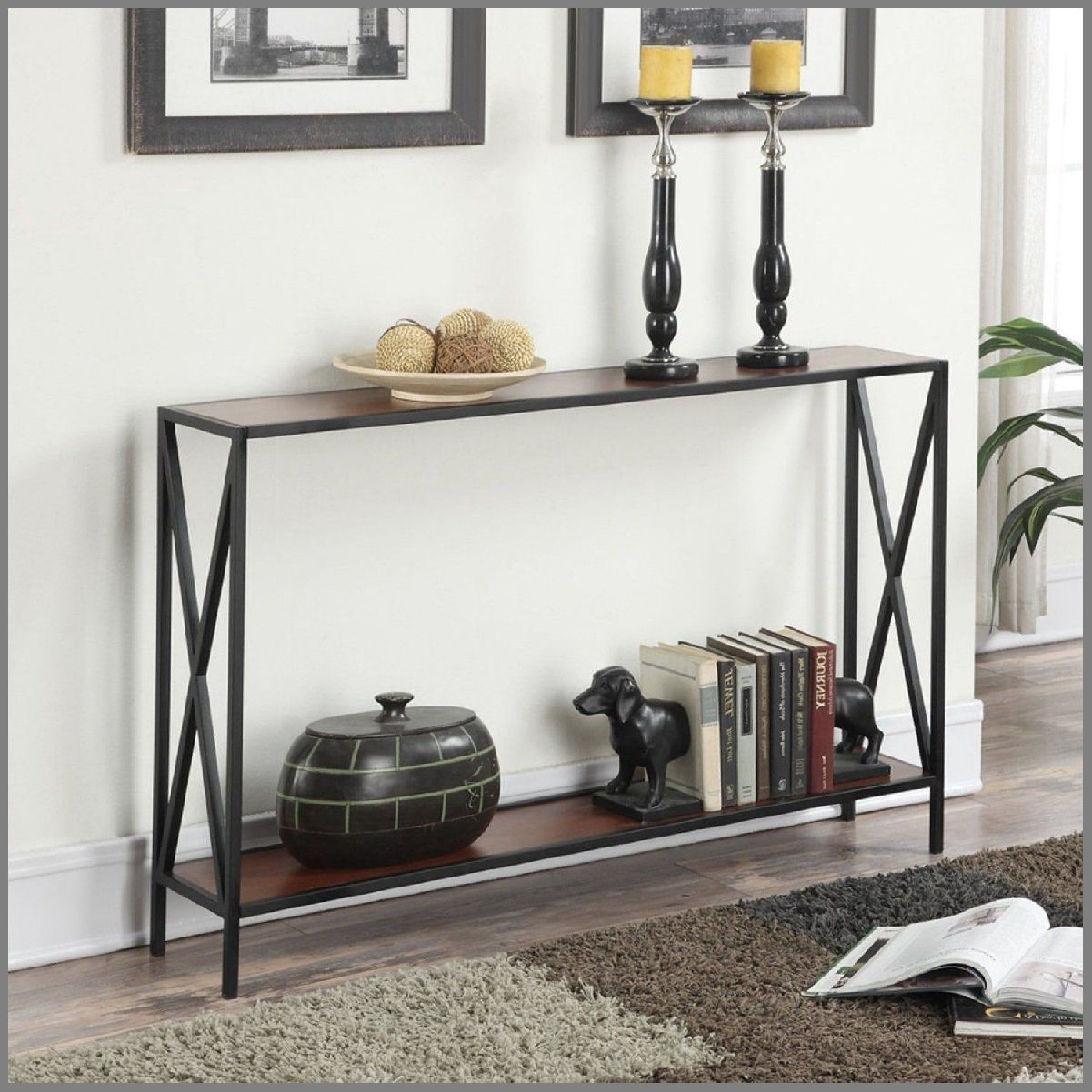 modern slim console table narrow shelf storage sofa accent entryway foyer mudroom furniture black trestle white end with drawer powell espresso round pier one tables patio tall