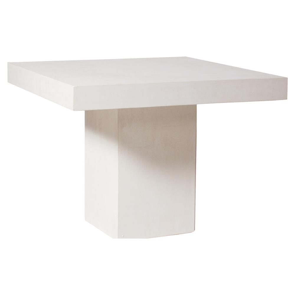 modern square white concrete outdoor side end table kathy kuo product home resin crystal chandelier lamps small patio furniture sets accent chair with storage wood and metal round