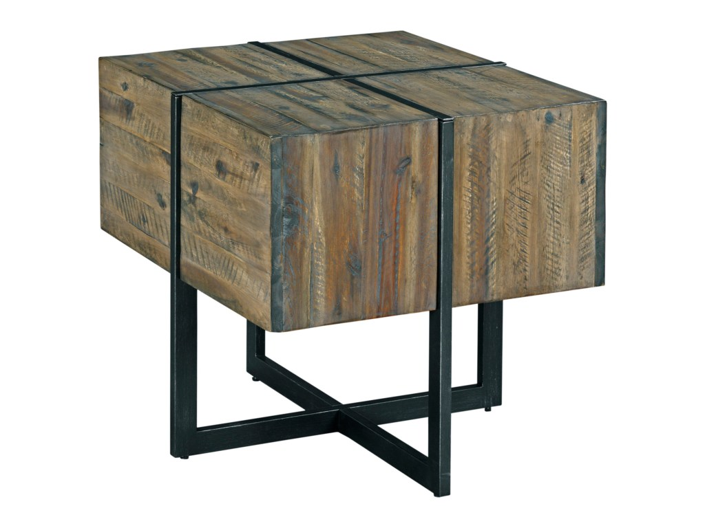 modern timber accent end table morris home tables products hammary color wood timberaccent pottery barn display coffee round marble gold and glass high bar wicker patio furniture