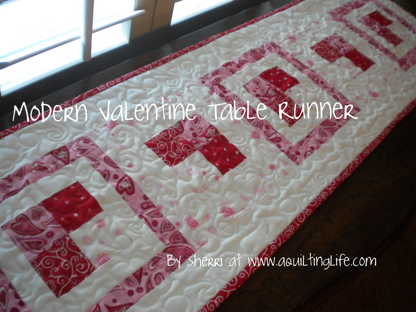 modern valentine table runner tutorial quilting life accent your focus super excited share with you today part the bemine blog tour this fun design that can dining mats designs