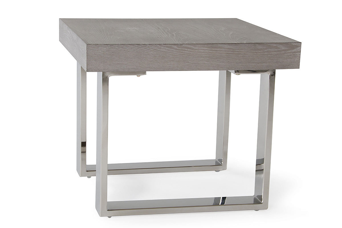 modrest lola modern grey end table industrial accent rustic gray white slipcovered sofa bunnings outdoor cushions lucite nesting tables pub style and chairs farm dining room