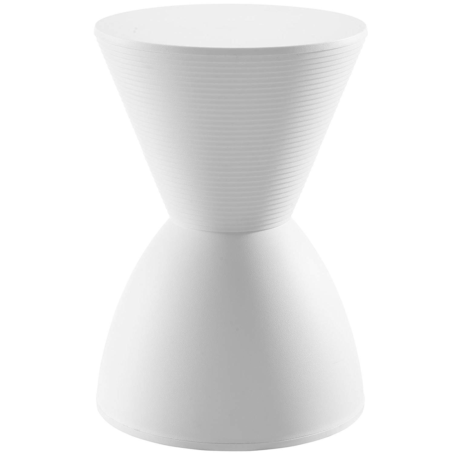 modway haste contemporary modern hourglass accent stool qbvqjl white corner table kitchen dining pier one cushions clearance pottery barn bedside magnetic lamp marble coffee