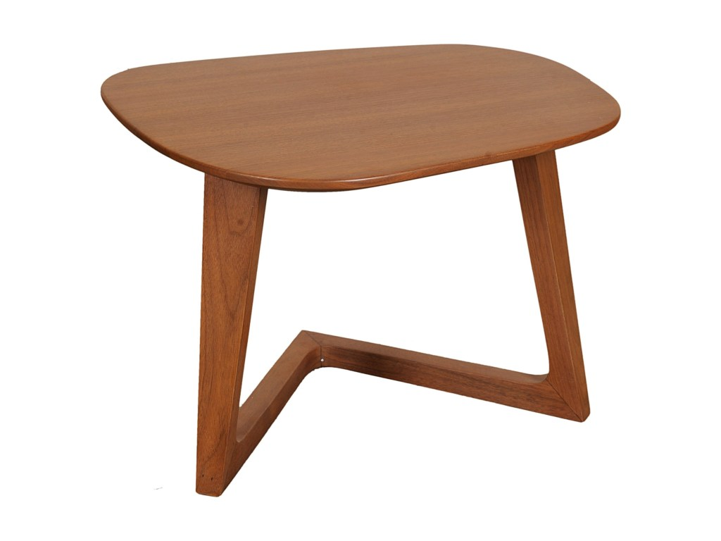 moe home collection godenza mid century modern end table fashion products moes color pinebrook round accent furniture tables small centerpiece ideas tall bedside lamps retro