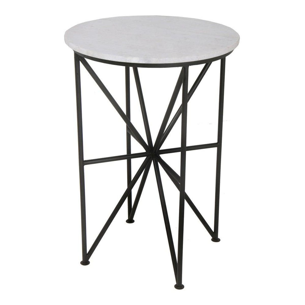 moe home collection quadrant marble accent table modish white tap expand small glass bedside outdoor furniture sets carpet threshold transition strip wood trestle dining homemade