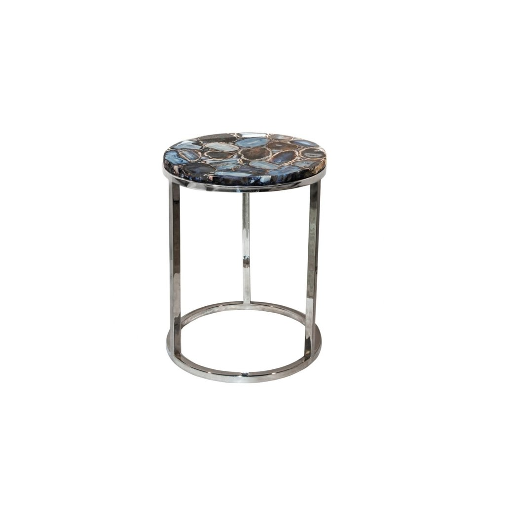moe shimmer agate accent table sun garden umbrella small round white coffee plexiglass cube sliding barn door decorative storage cabinet tiffany pond lily lamp pottery retro