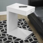 monarch accent table white with drawer modern silver gray over the toilet storage target tessa furniture living room for small spaces antique wood coffee tables marble outside 150x150