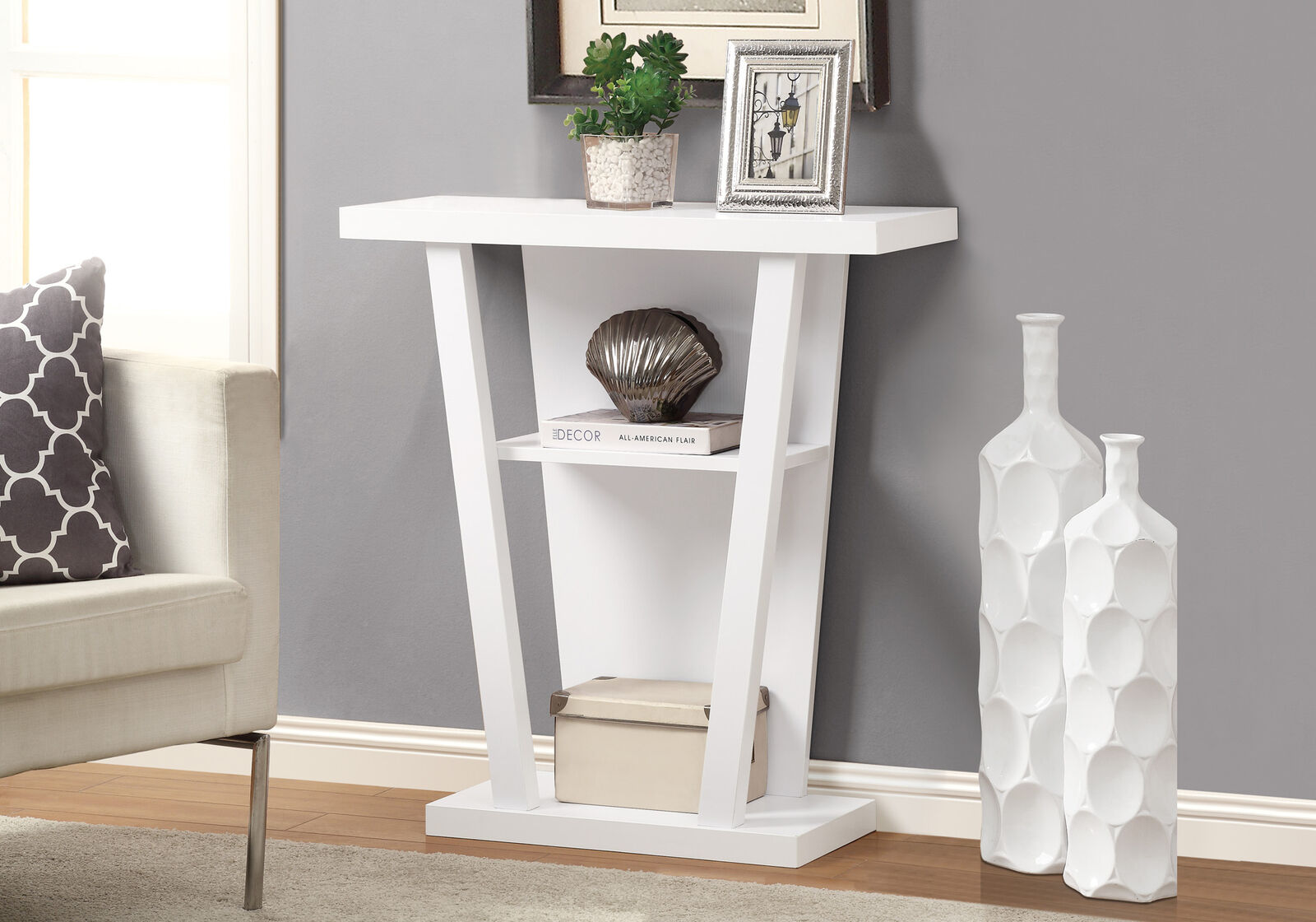monarch hall console accent table inch white black lamp shades teak garden side round glass small coffee under dining tables toronto target mirrored tall end acrylic making legs