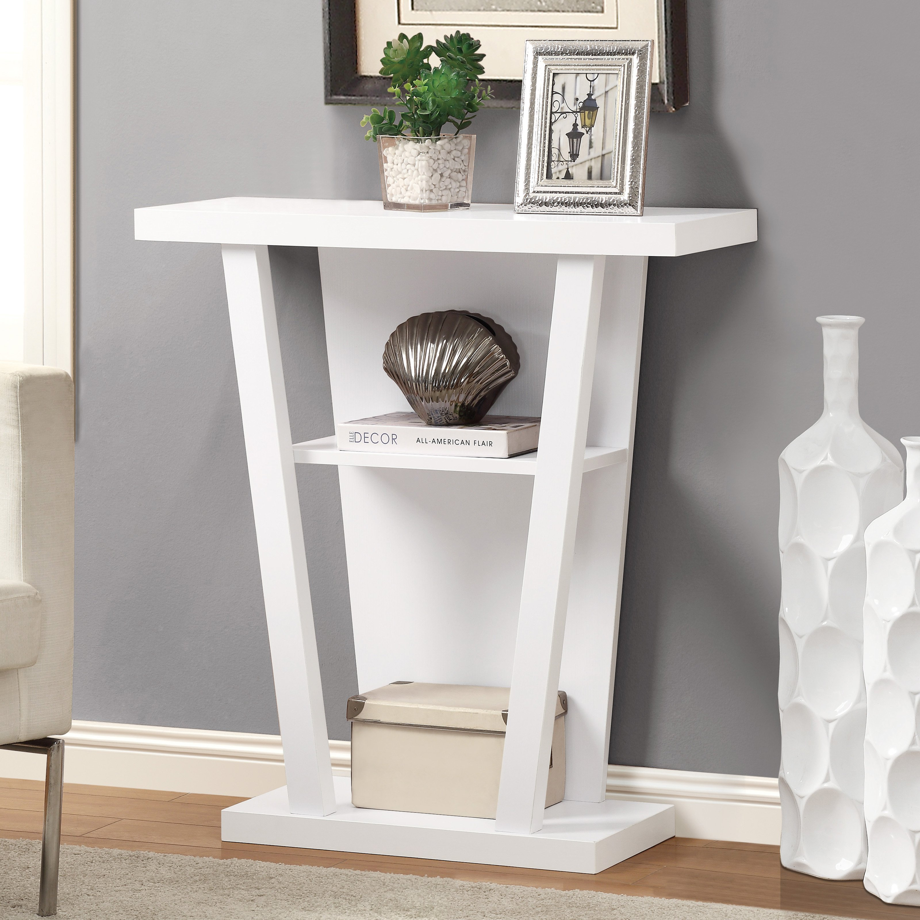 monarch hall console accent table white master grey counter height dining with bench chair design classics pier one imports locations ott sofa small decorative chest drawers