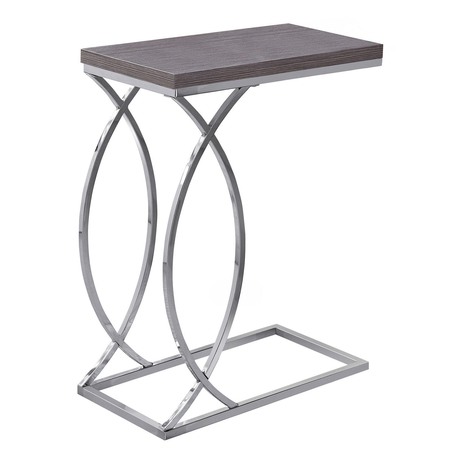 monarch mdf and metal accent table grey finish normande lighting led desk lamp gear counter height dining with bench chair covers target small decorative chest drawers drum stool