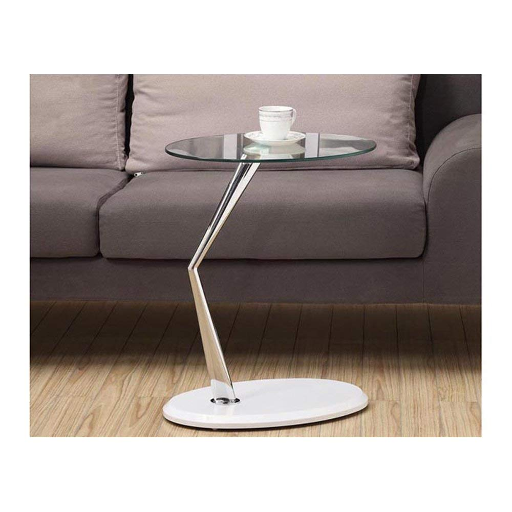 monarch metal accent table tempered glass chrome glossy bentwood with white kitchen dining sea themed lamps console stools couches edmonton area furniture living room sets for