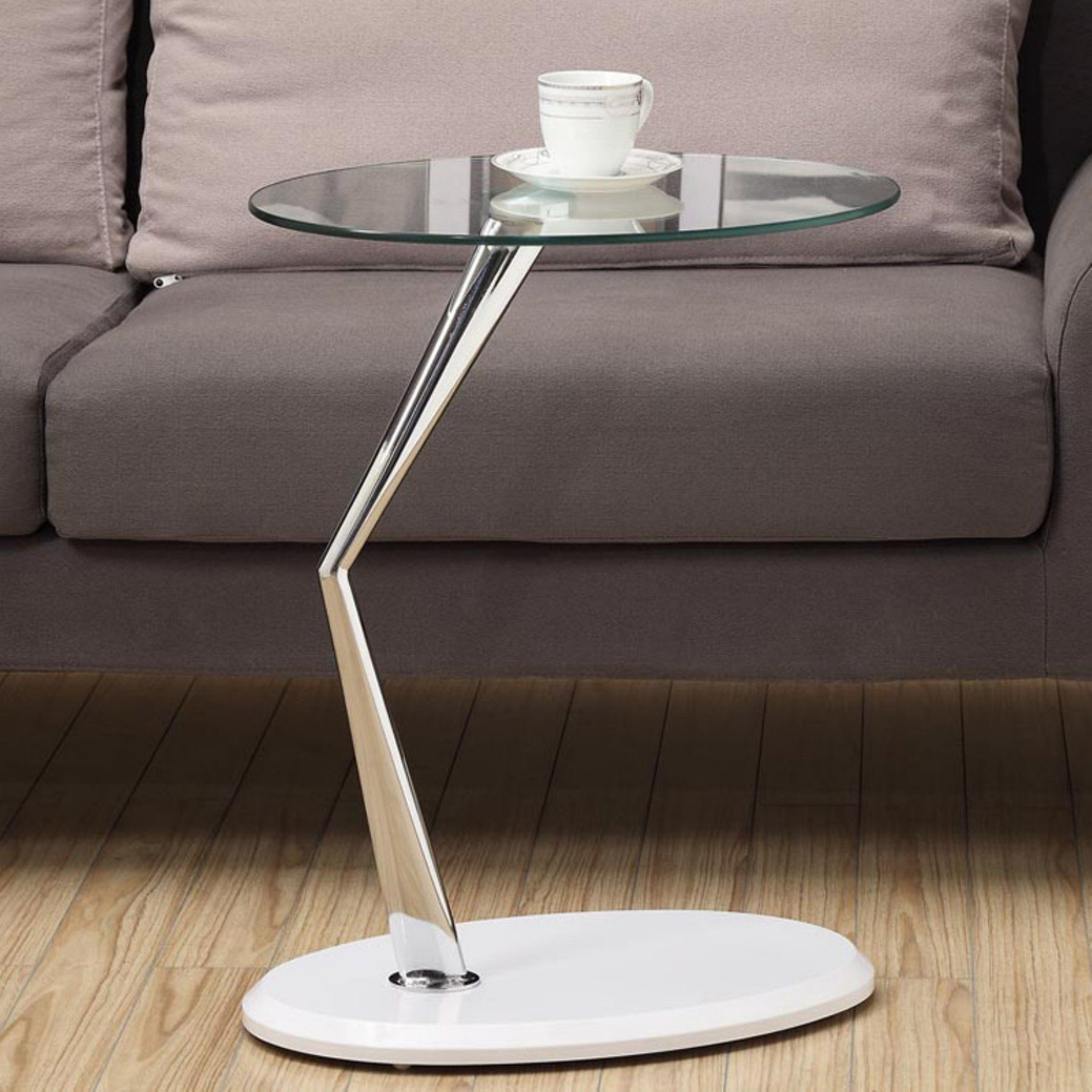 monarch metal accent table with tempered glass glossy white clarissa chrome placemat set chinese ginger jar lamps acrylic nest tables illusion modern lamp designs adirondack