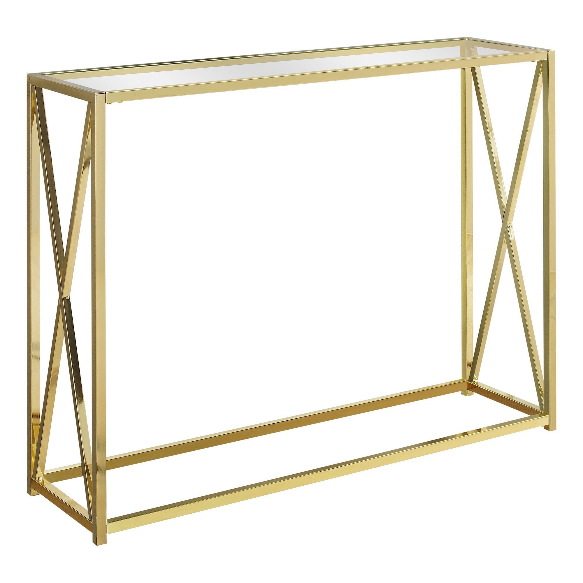monarch metal and glass accent table gold finish gwg oak dining ashley furniture nesting tables entryway cabinet pottery barn farmhouse bedside coffee end french beds floor mirror