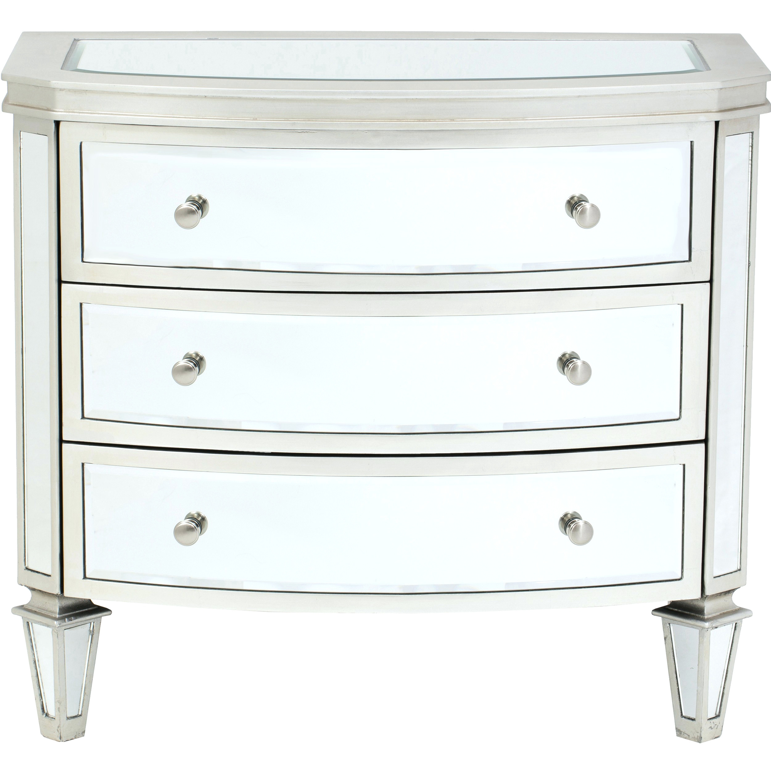 monarch mirrored drawer chest furniture for plan accent table target nightstand affordable lamps black metal lamp real marble coffee small crystal wood end with legs telephone