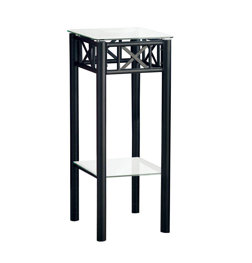 monarch specialties accent table black metal with tempered glass outdoor woven threshold hover zoom mini bedside small corner ikea home plans hand painted coffee blue target