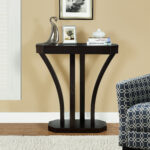 monarch specialties accent table cappuccino hall console prod home furniture entryway hallway tables corner pieces sofa side end concrete and glass coffee black gray wine rack 150x150