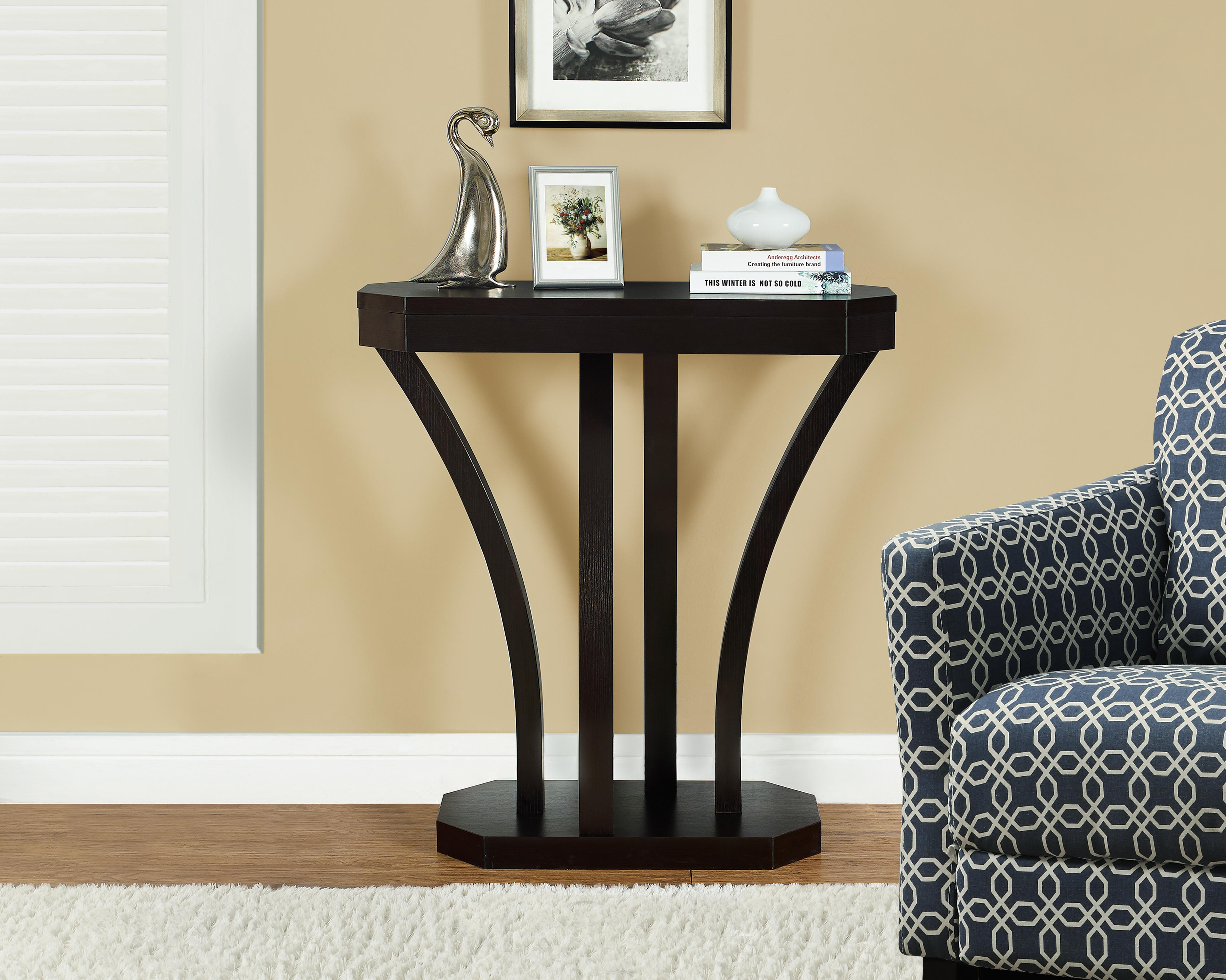 monarch specialties accent table cappuccino hall console prod home furniture entryway hallway tables patio depot coffee top west elm room planner dark grey side fabric tablecloths