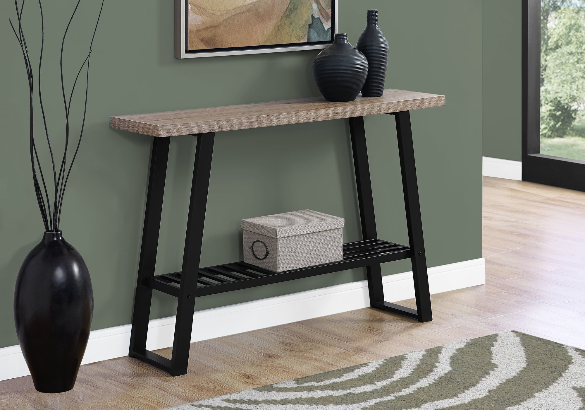 monarch specialties accent table dark taupe black hall console small round metal outdoor target windham side mid century dining bench coffee with wheels inch bar storage furniture