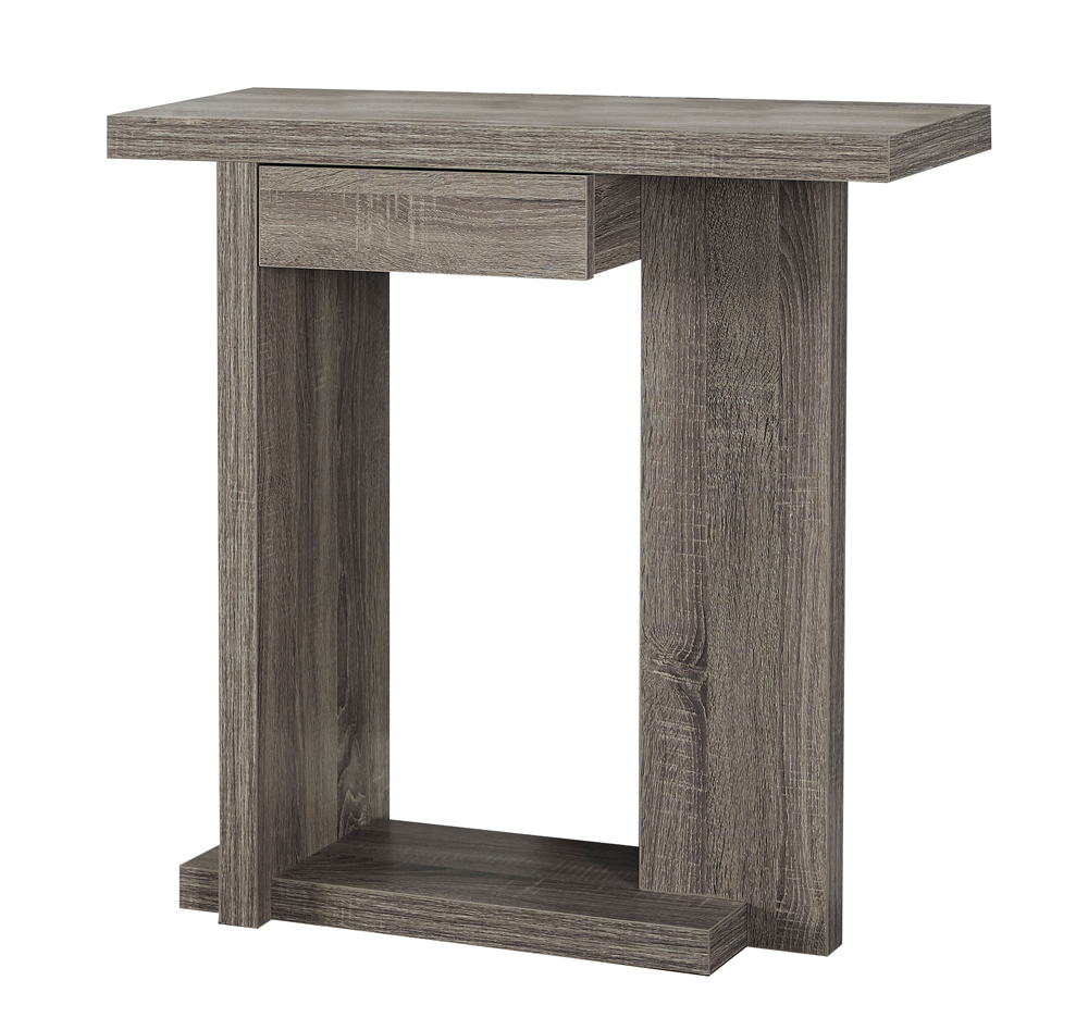 monarch specialties accent table dark taupe hall console grey hover zoom floor threshold transitions outdoor furniture couch bar height and chairs gear lamp best cantilever