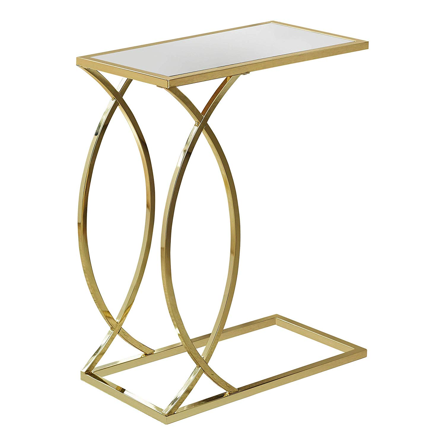 monarch specialties accent table gold finish kitchen clarissa metal dining bankers lamp white acrylic nest tables office furniture champagne ice bucket drum kit throne pet