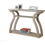 monarch specialties accent table tier hall console dark taupe reclaimed look target cabinet next dining room furniture metal coffee set bunnings garden seat teak wood black and 150x150