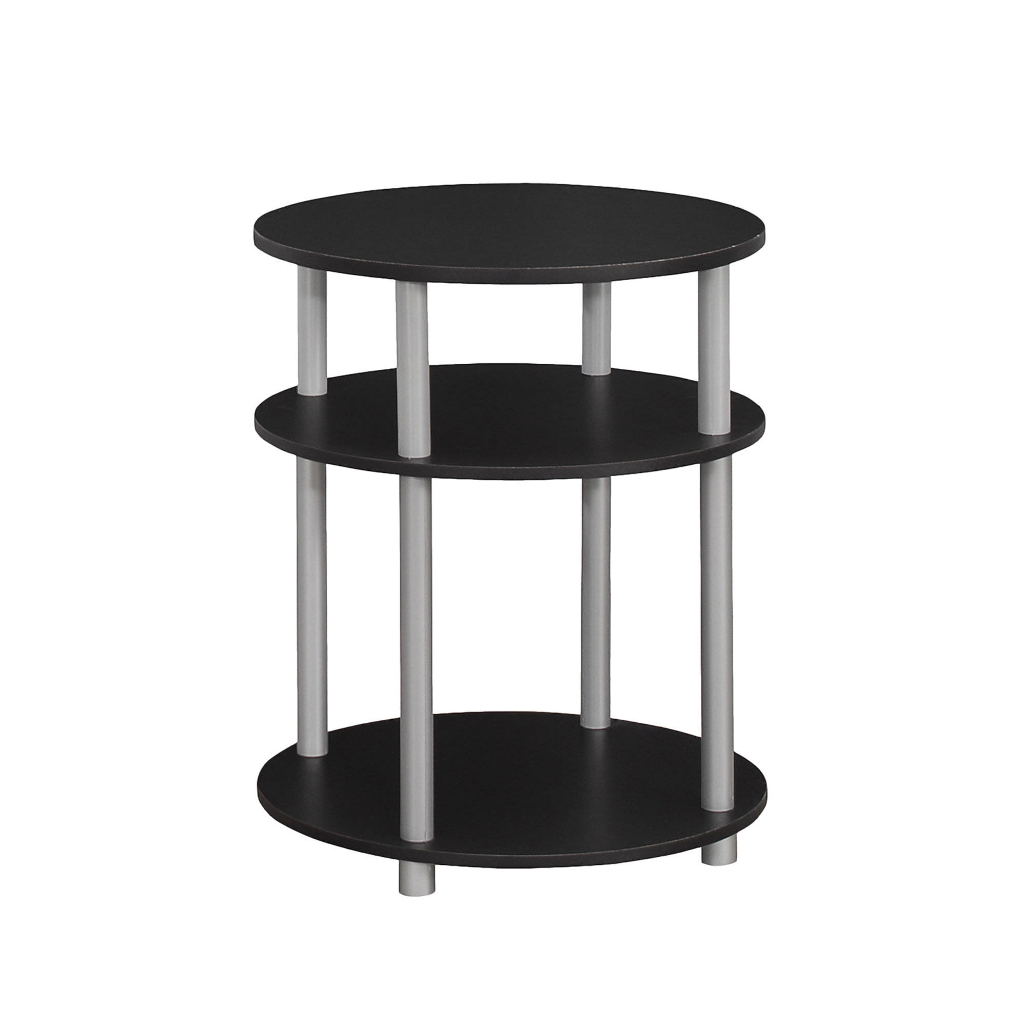 monarch specialties black silver accent table the classy home mnc commercial office furniture tall mirrored chest drawers wood side teak rustic nightstands round outdoor chair pub
