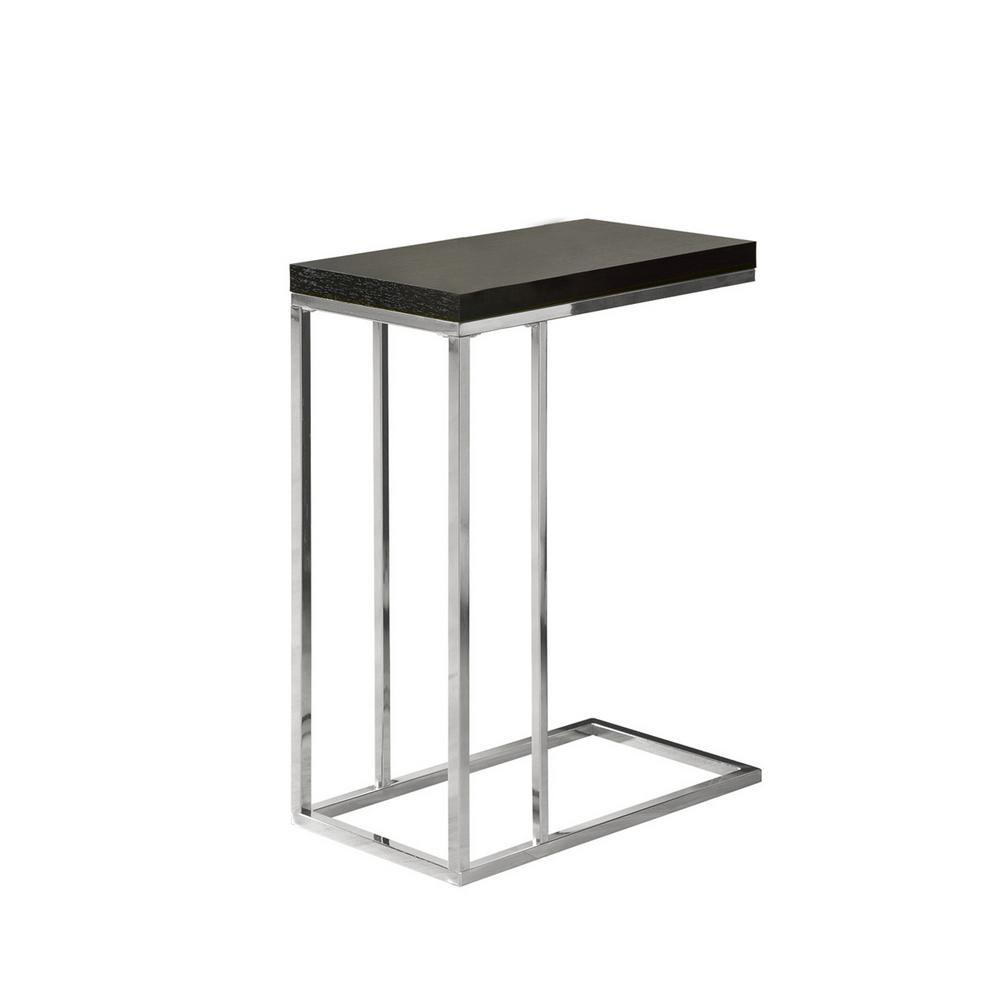 monarch specialties cappuccino end table the chrome tables top accent side marble ashley center nesting occasional narrow hallway outdoor wicker chairs small patio and foyer ideas