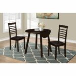 monarch specialties dining set cappuccino drop leaf table accent marble bronze metal hover zoom battery operated end lamps ikea tops home decor sites leick furniture trends mosaic 150x150