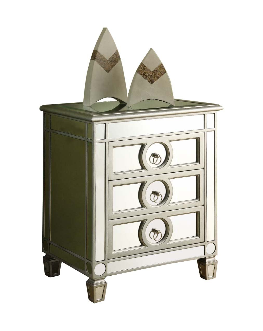 monarch specialties drawer accent table mirrored kitchen dining tall white console thin bedside cabinets large market umbrellas seahorse lamp silver outside wall clocks chairs for