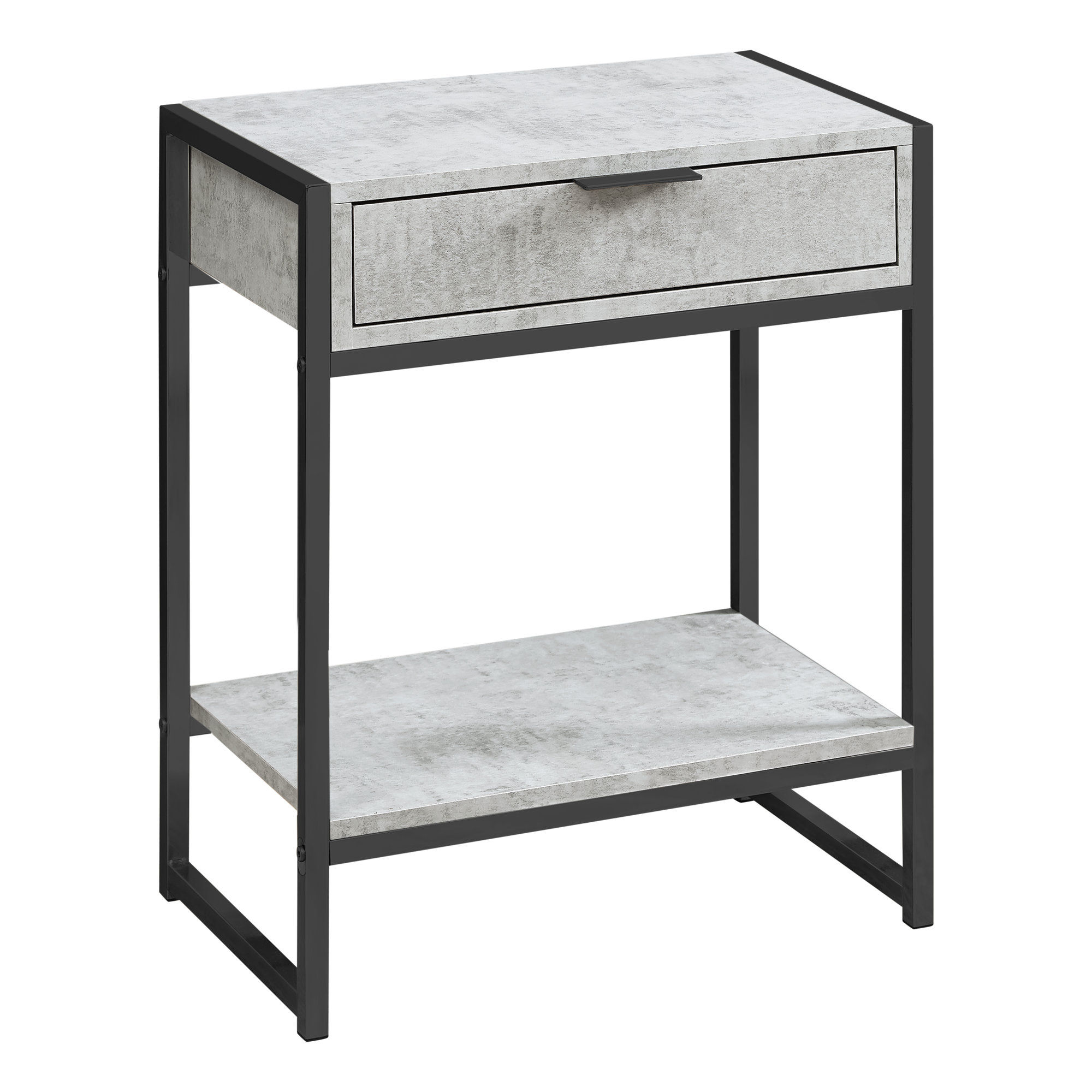 monarch specialties grey cement accent table the classy home mnc click enlarge storage chest seat ikea bistro and chairs best cantilever umbrella large marble top coffee furniture