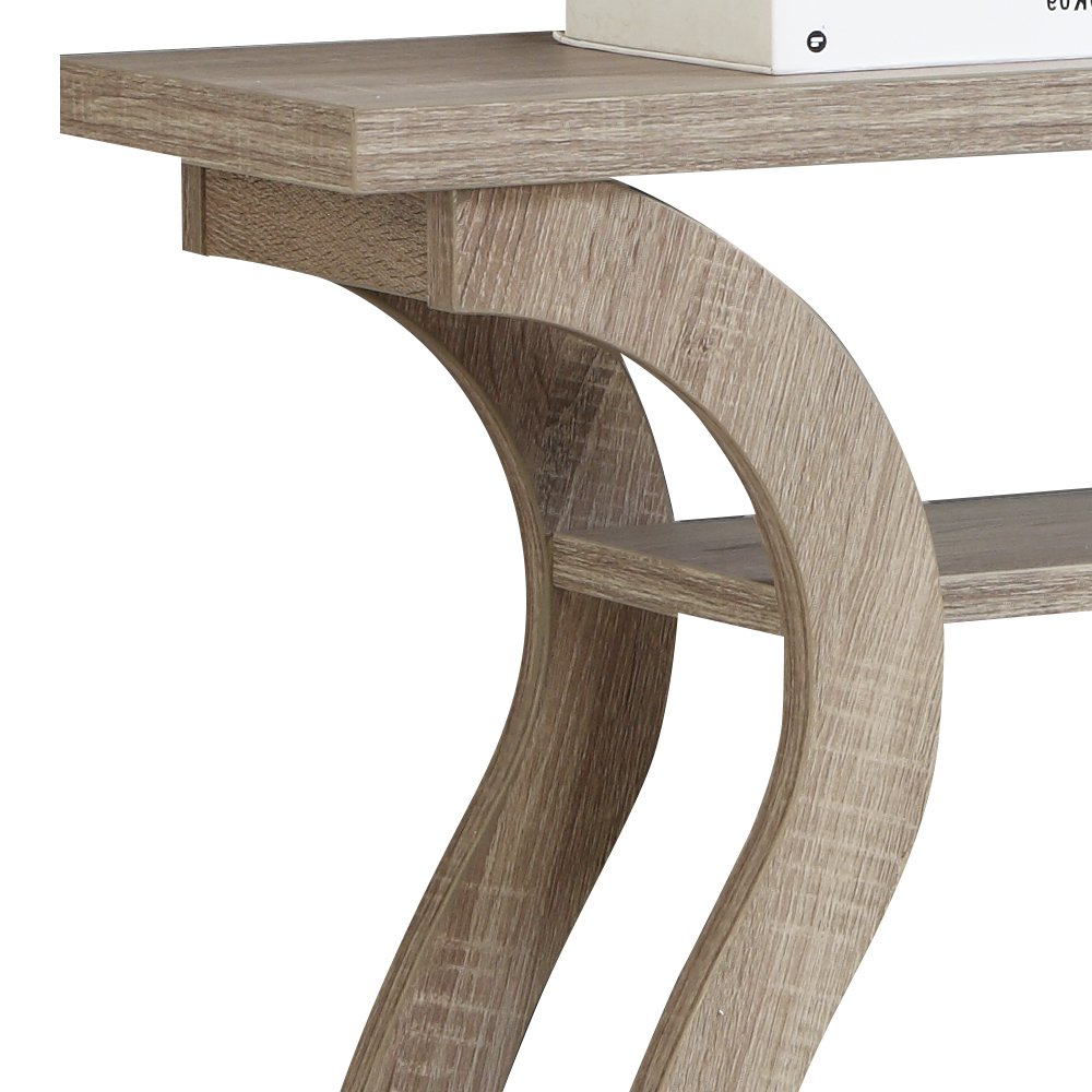 monarch specialties hall console accent table cappuccino counter height dining room chairs inside door mats simon lee furniture mid century modern round acrylic chest coffee small