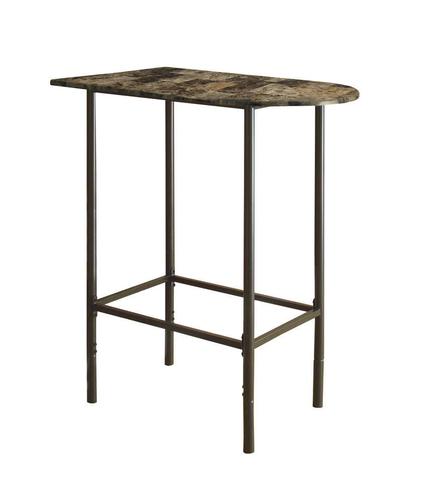 monarch specialties home bar cappuccino marble metal accent table bronze hover zoom magazine side glass bedside drawers extra long narrow console wicker furniture decor sites