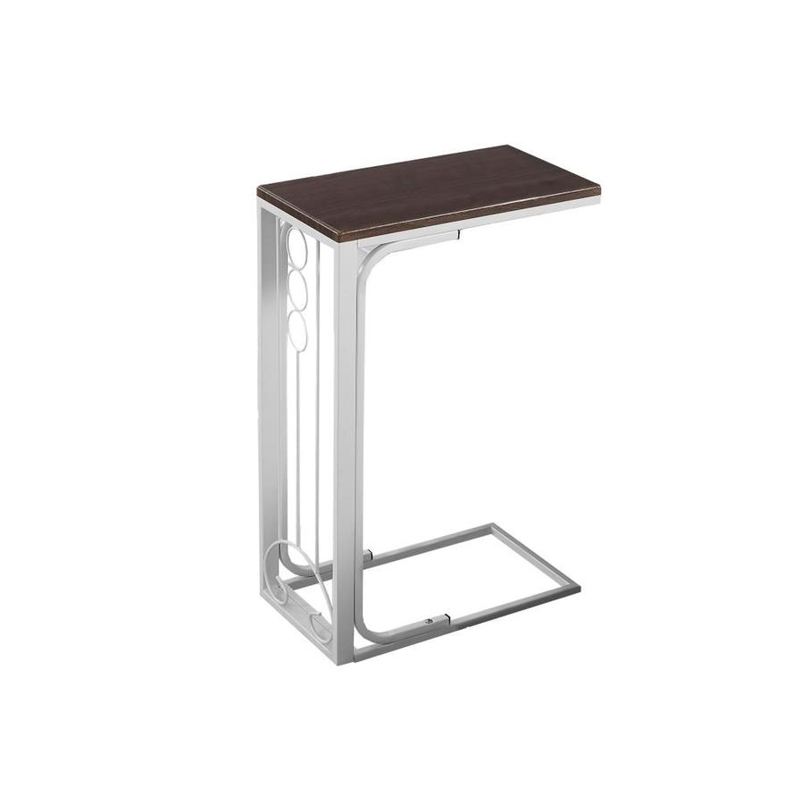 monarch specialties metal accent table white retro inspired furniture black mirrored chest red patio side outdoor pendant lamp brown usb coffee pine wood cement base cast nate