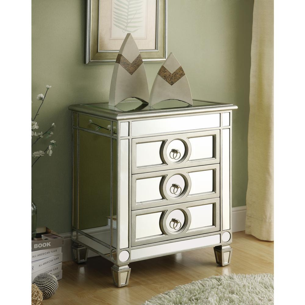 monarch specialties mirrored storage console table the home tables accent with white linen tablecloth round mini abacus lamp west elm scoop target hexagon rugs kitchen drawer